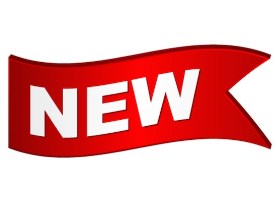 vector wavy new sign